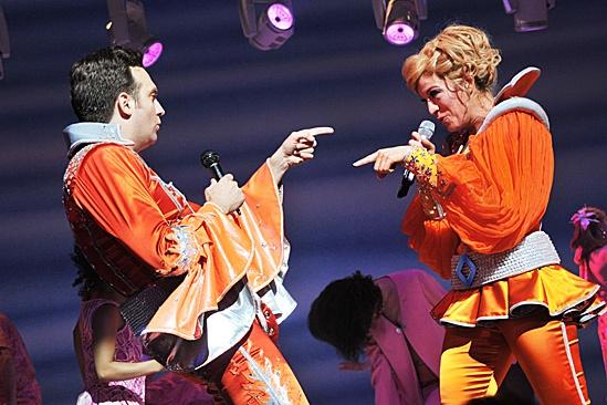 Mamma Mia – 2012 New Cast Opening Night – Graham Rowat – Felicia Finley