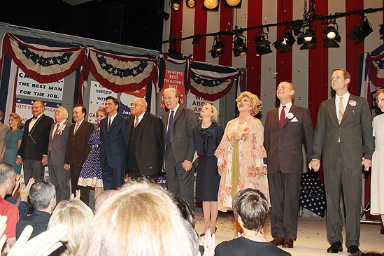 The Best Man  Closing Night  cast