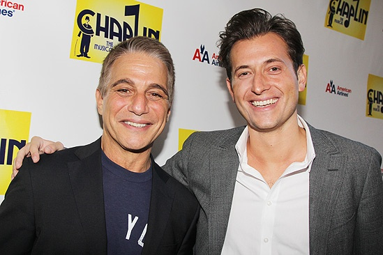 Chaplin – Opening Night – Tony Danza – Peter Cincotti