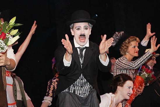 Chaplin – Opening Night – Rob McClure – Erin Mackey – Jenn Colella