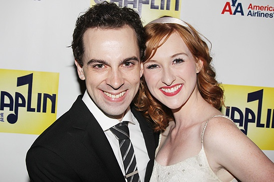 Chaplin – Opening Night – Rob McClure – Erin Mackey