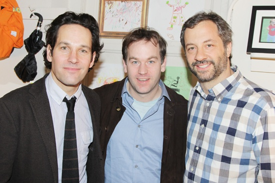 Judd Apatow at Grace – Paul Rudd – Mike Birbiglia – Judd Apatow