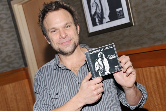 Norbert Leo Butz CD Signing  Norbert Leo Butz 