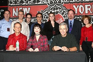 Chicago 10th Anniversary DVD/CD Signing - Joel Grey - Bebe Neuwirth - James Naughton - Virgin staff