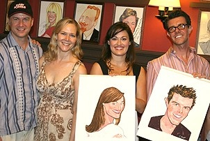 Photo Op - Ashley Brown & Gavin Lee at Sardi's - Daniel Jenkins - Rebecca Luker - Ashley Brown - Gavin Lee