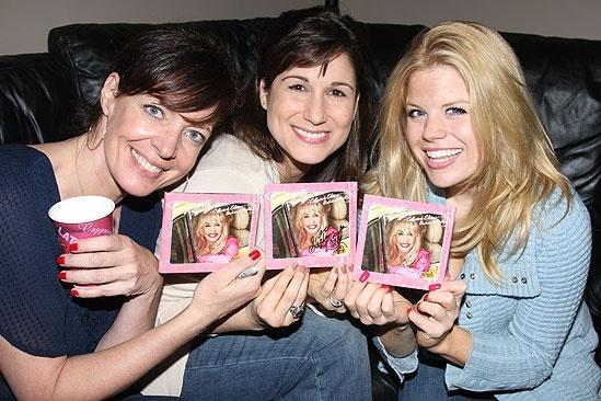 9 to 5 Original Cast Recording Session – Allison Janney – Stephanie J. Block – Megan Hilty