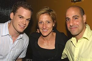 Chicago Michael Hall Party - Michael C. Hall - Edie Falco - Stanley Tucci