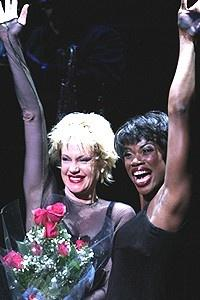 Melanie Griffith Chicago Opening - Curtain Call - Melanie Griffith - Deidre Goodwin