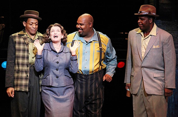 Show Photos - Memphis - Derrick Baskin - Cass Morgan - James Monroe Iglehart - J. Bernard Calloway