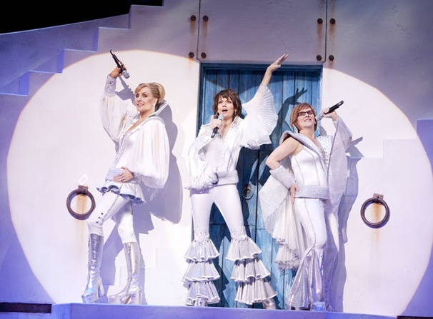 Mamma Mia - Show Photos - Judy McLane - Beth Leavel - Allison Briner (silver)