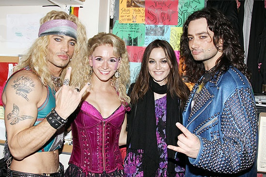 Leighton Meester at Rock of Ages - James Carpinello - Emily Padgett - Leighton Meester - Constantine Maroulis