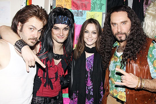 Leighton Meester at Rock of Ages - Mitch Jarvis - Jeremy Woodard - Leighton Meester - Adam Dannheisser