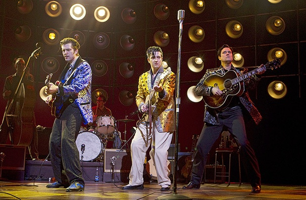 Show Photos - Million Dollar Quartet - Rob Lyons - Eddie Clendening -Lance Guest