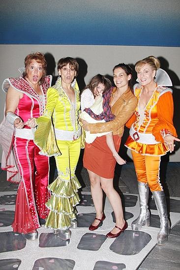 Katie Holmes and Suri at Mamma Mia! – Gina Ferrall - Beth Leavel – Suri Cruise – Katie Holmes – Judy McLane