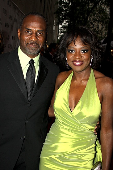 2010 Tony Awards Red Carpet  Julius Tennon  Viola Davis 