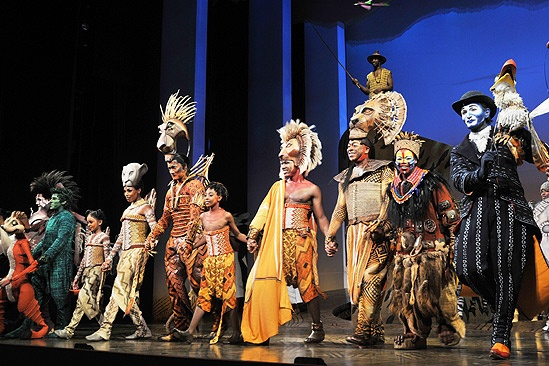 Lion King Cast June 2010 – cast