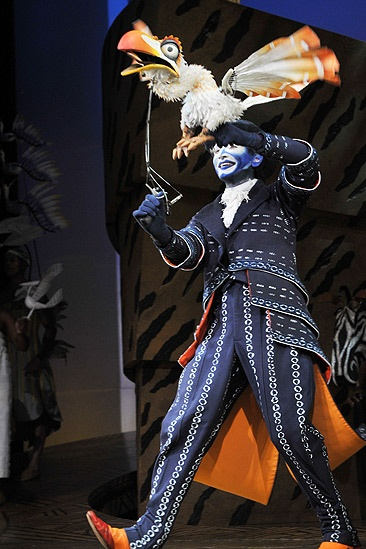 Lion King Cast June 2010 – Cameron Pow