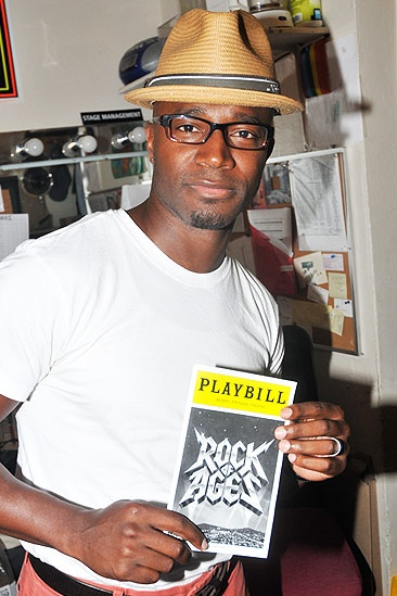 Taye Diggs at Rock of Ages – Taye Diggs solo
