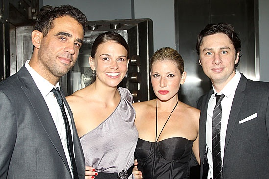 Trust Opening Night  Bobby Cannavale  Sutton Foster  Ari Graynor  Zach Braff