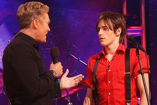Spider-man GMA – Reeve Carney  - Sam Champion