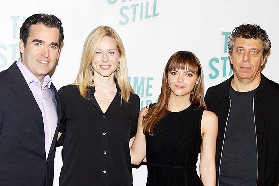 Time Stand Still Meet and Greet – Brian d'Arcy James – Laura Linney – Christina Ricci – Eric Bogosian