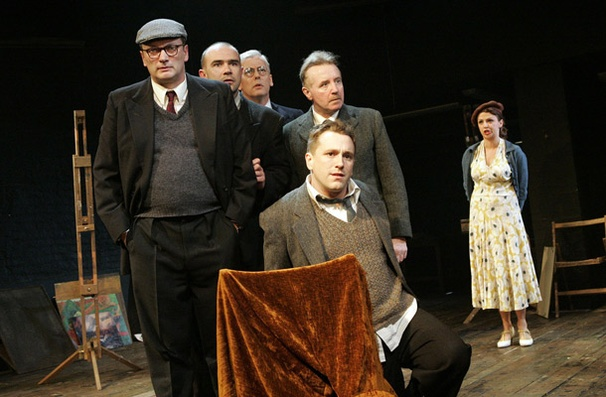 Show Photos - The Pitmen Painters - Michael Hodgson - Christopher Connel - Deka Walmsley - Brian Lonsdale - David Whitaker - Lisa McGrillis