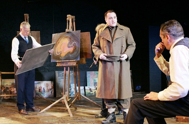 Show Photos - The Pitmen Painters - Deka Walmsley - Brian Lonsdale - Michael Hodgson  