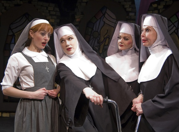 Show Photos - The Divine Sister - Amy Rutberg - Charles Busch - Alison Fraser - Julie Halston