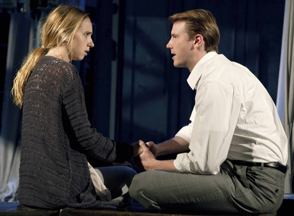 Show Photos - Angels in America - Zoe Kazan - Bill Heck