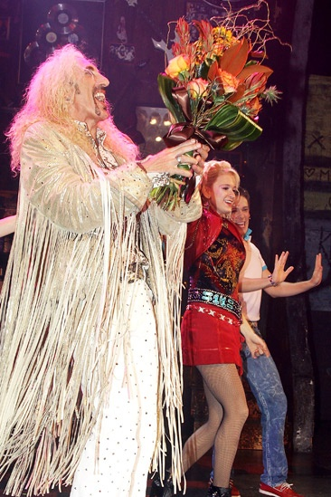Dee Snider Rock of Ages opening night – Dee Snider – Emily Padgett