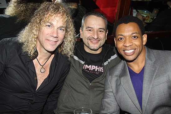 Memphis First Anniversary on Broadway – David Bryan – Joe DiPietro – Derrick Baskin