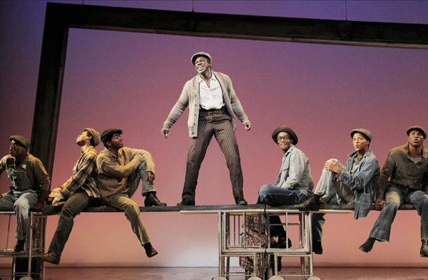 Show Photos - The Scottsboro Boys - Joshua Henry - cast