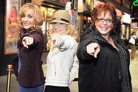 Mamma Mia Disco Ball Lighting – Judy McLane – Lisa Brescia – Gina Ferrall