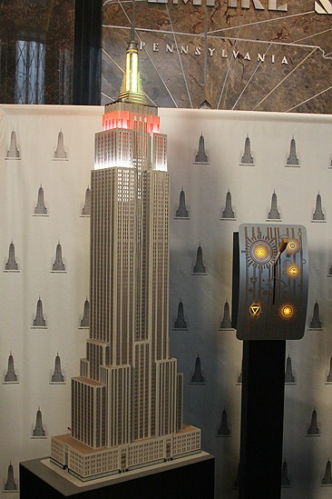 Jersey Boys at Empire State Building  Empire State Building model