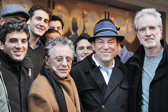 Jersey Boys Fifth Anniversary – Jarrod Spector – Frankie Valli – Ryan Jesse – Des McAnuff – Bob Gaudio