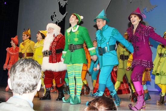 Elf opens – cast