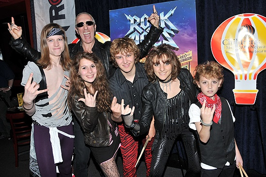 Dee Snider and the School of Rock  Jake Taenzler  Kelly Sabatino Dee Snider Grayson Kohs  Korina Dabundo - Chris Cummings