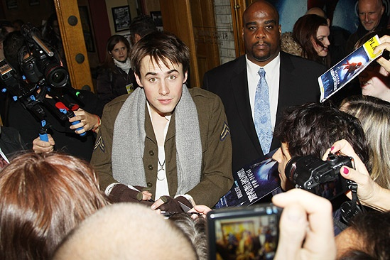 Spiderman preview - Reeve Carney