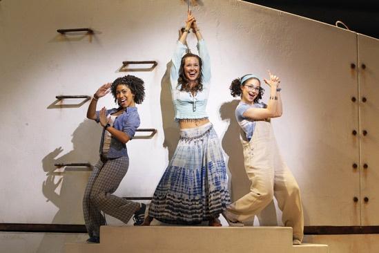 Mamma Mia - Show Photos - Halle Morse - Liana Hunt - Traci Victoria