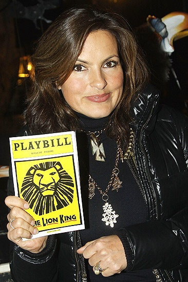 Mariska Hargitay at The Lion King – Mariska Hargitay