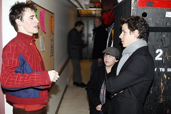 Nick Jonas Spidey - Reeve Carney - Frankie Jonas - Nick Jonas 2