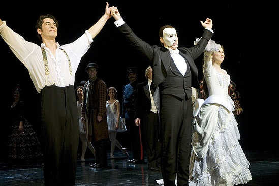 Phantom of the Opera 23rd Anniversary – curtain call