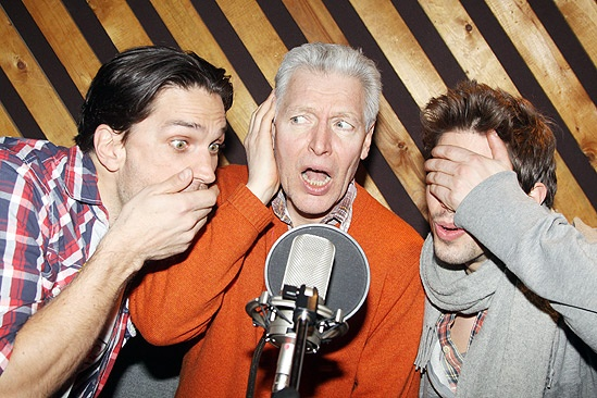Priscilla recording - Will Swenson – Tony Sheldon – Nick Adams 3