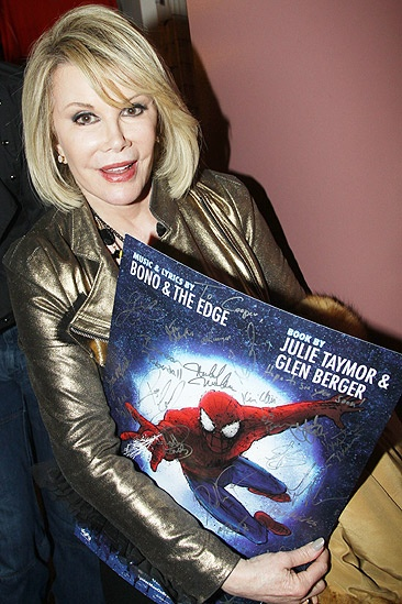 Joan Rivers Spider-Man