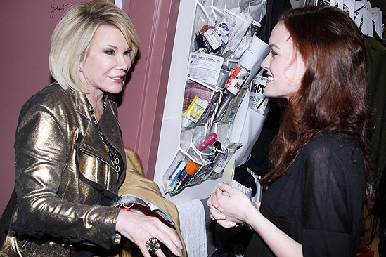 Joan Rivers Spider-man  Joan Rivers  Jennifer Damiano