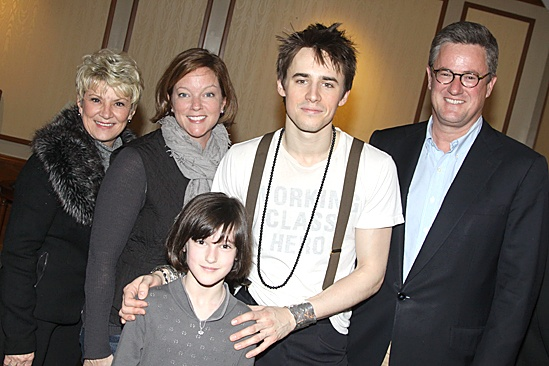 Spiderman Efron – Joe Scarborough- family – Reeve Carney