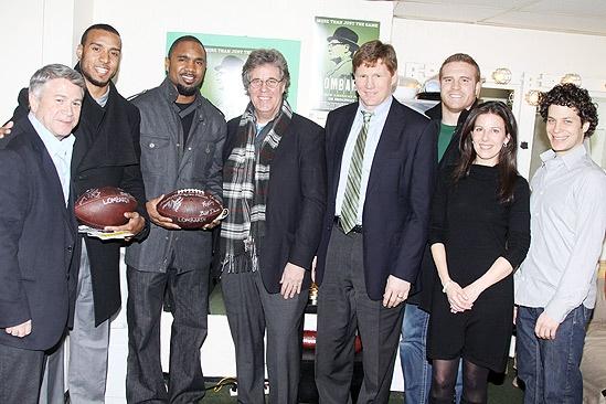 Lombardi Real Packers – Tony Ponturo – Ryan Grant- Charles Woodson – David Maraniss – Mark Murphy – John Kuhn – Fran Kirmser – Thomas Kail