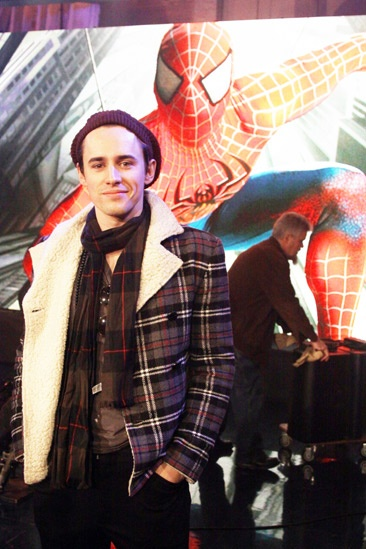 Spider-Man Letterman – Reeve Carney 2