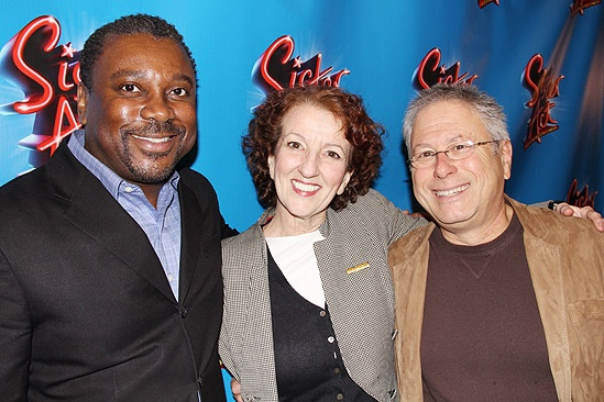 Sister Act Meet and Greet  Kingsley Leggs  Audrie Neenan  Alan Menken