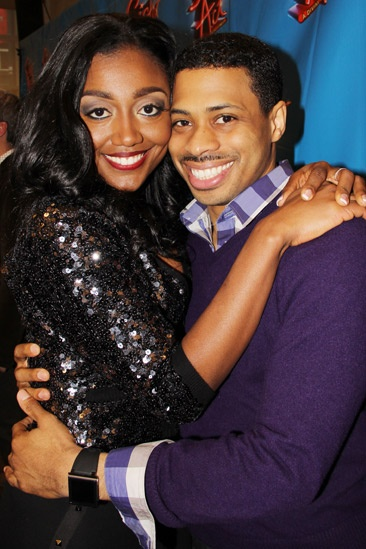 Sister Act Meet and Greet  Patina Miller  Chester Gregory